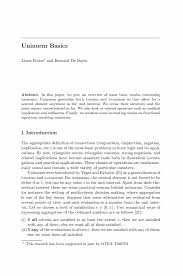 interesting topics to write about for a research paper uninorm basics springer inside