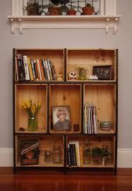 Crates For Bookshelves - best 25 wine box shelves ideas on pinterest wooden box shelves