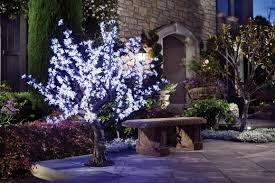white led cherry blossom tree beautiful outdoor