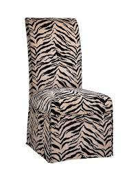Zebra Dining Chairs If You Already Parsons Chairs Consider Updating Them With A