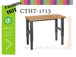 sit standing desk height adjustable table top mfc mdf bamboo