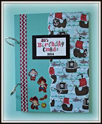 birthday card keepsake book aftcra