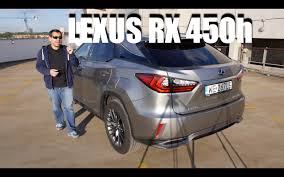 test lexus rx 450h youtube lexus rx 450h 2016 hybrid suv eng test drive and review youtube