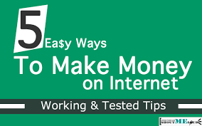 easy way to earn money 5 easy ways to make money on the tested tips