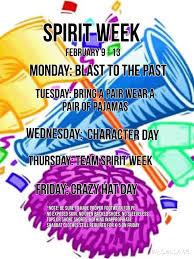 knesset spirit week day by day dress up themes
