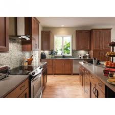 kitchen appealing kitchen galley decoration using cherry wood interesting image of kitchen design and decoration with american woodmark kitchen cabinet appealing kitchen galley