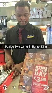 Patrice Meme - soccer memes on twitter breaking burger king sign patrice evra to