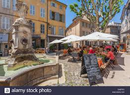 aix en provence france provence aix en provence view to place des tanneurs with
