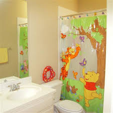 Gorgeous Shower Curtain by Bathroom Ideas Disney Kids Bathroom Sets With Princess Patterned