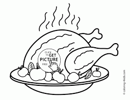 coloring pages delightful thanks giving drawing how draw