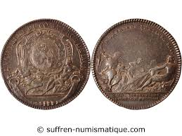 chambre commerce lyon chambre de commerce lyon jeton argent 1721 vente monnaie jetons
