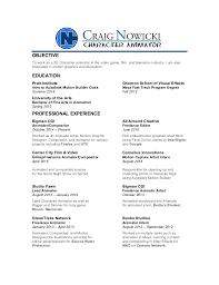 animated resume cnowicki resume