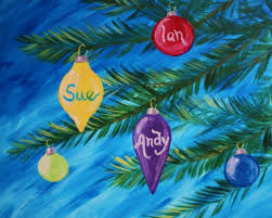 learn to paint family of ornaments