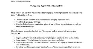 twitchalerts issued a cease and desist order against athene forsen