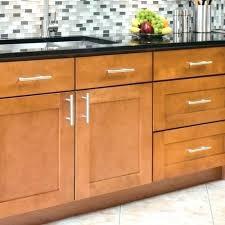 Kitchen Cabinet Door Knob Placement Shaker Cabinet Hardware Placement Genial Kitchen Cabinets Door