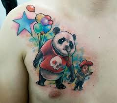 panda tattoo panda tattoos pinterest panda bear tattoos