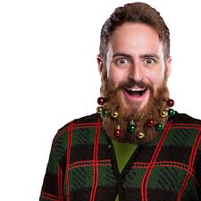 beard ornaments festive beard ornaments colorful 10 pack by beardo decoration
