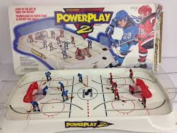 Table Top Hockey Game Irwin Power Play 2 Table Top Hockey Game Complete In The Box