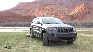jeep grand cherokee trailhawk 2017 jeep grand cherokee trailhawk presentation in moab utah