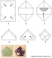 Origami With Letter Size Paper - origami cd cover pentagon shape