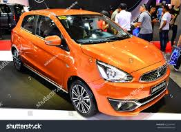 mitsubishi mirage hatchback manila ph apr 1 orange mitsubishi stock photo 622204946 shutterstock
