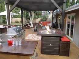 Outdoor Kitchen Granite Countertops Diy Outdoor Kitchen Plans Grey Granite Countertop Double Built In