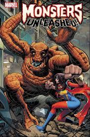 monsters vs aliens halloween special hero vs monster variants for marvel u0027s monsters unleashed