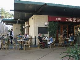 Zinc Bistro Table Zinc Bistro Outdoor Seating Picture Of Zinc Bistro Scottsdale