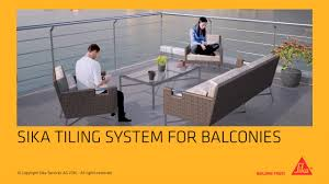 sika tiling system for balconies and terraces youtube