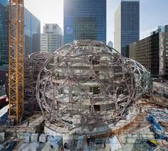 Amazon Seattle Map by Amazon Is Building These Amazing Spherical Treehouses For Their