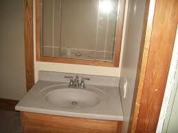 Bathroom Sink And Mirror Hoylman Construction West Liberty Bellefontaine And Urbana Oh