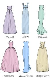 different wedding dress shapes wedding dress shapes for types all dresses