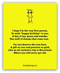 birthday poems happy birthday messages