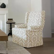 sure fit slipcovers wing chair sure fit slipcovers wing chair relaxed fit wing chair slipcover sure