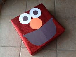 elmo christmas wrapping paper elmo wrapping paper elmo present my projects craft