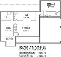 small house floor plans with basement bedroom small family house plans small house ideas floor plans