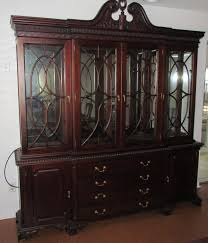 for sale 9 foot long mahogany dining room table china cabinet china cabinet jpg