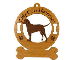 golden retriever with frisbee ornament 083244 personalized