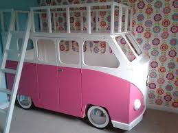 Pink Camper Bunk Bed Kool Pinterest Bunk Bed Room Ideas And - Pink bunk beds for kids