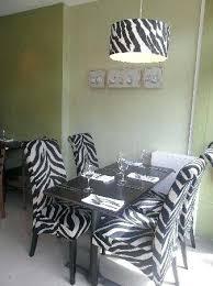 Zebra Dining Chairs Zebra Dining Chairs Animal Print Zebra Dining Table Lunion Me