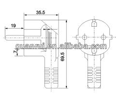 schuko plug to iec320 c19 power cord buy schuko plug to iec320