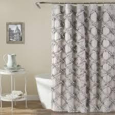 Light Grey Shower Curtain Light Grey Shower Curtain Wayfair