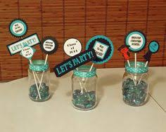 homemade graduation centerpieces ended up making 20 of these for