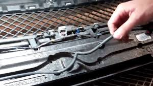 jaguar grill how to change the front grille on jaguar xf 2011 on youtube