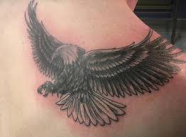 eagle back tattoo designs page 7
