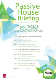 passivhaus architecture company to present at cork institute of