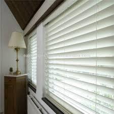classic custom made 50mm slat one way wooden horizontal blinds