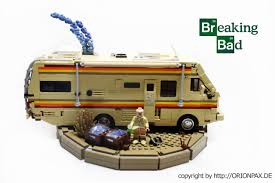 camper van lego breaking bad winnebago rv by orion pax breaking bad lego gallery
