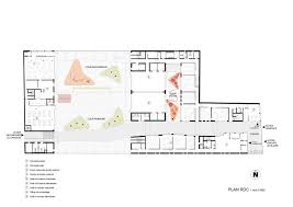 purpose of floor plan gallery of multi purpose education centre atelier phileas 16