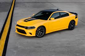 Dodge Challenger Yellow - 2017 dodge challenger t a and charger daytona get hellcat hardware